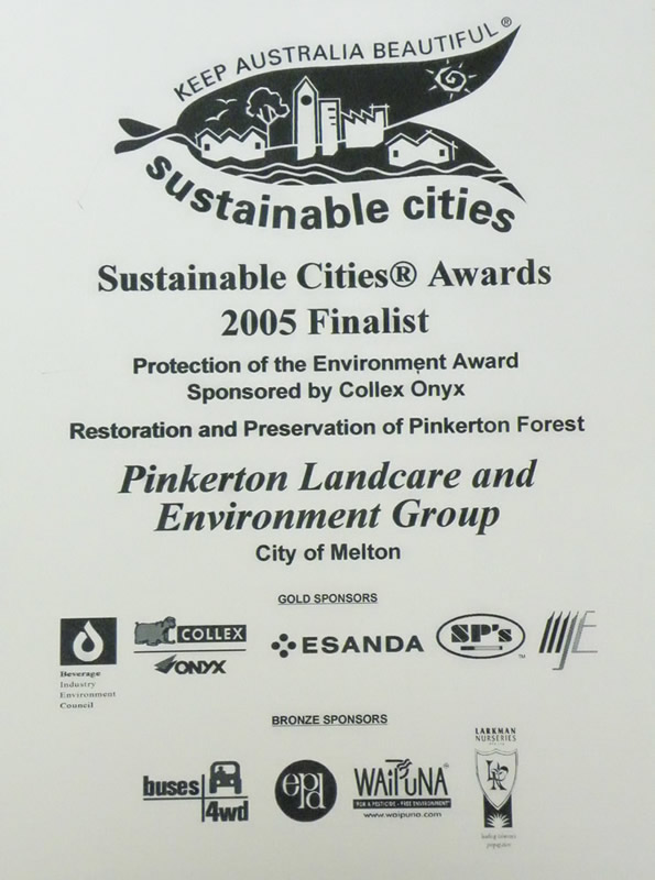 2008 Finalist Sustainable Cities